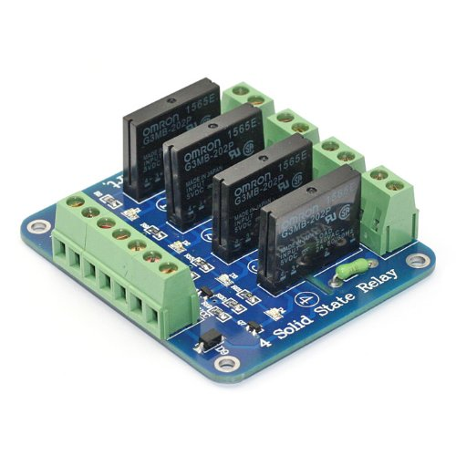 5V 4Channel Solid State Relay Board for Arduino Uno Duemilanove